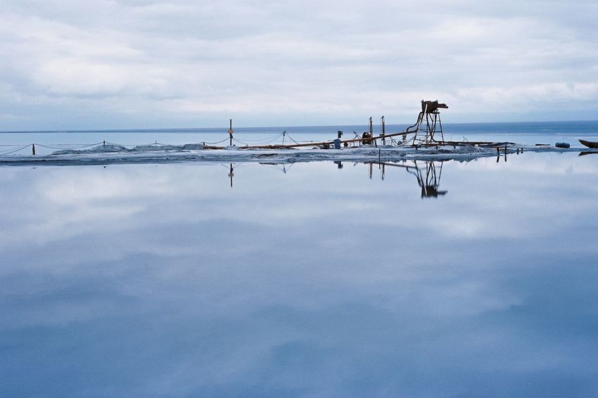 EyeEm Selects Cloud - Sky Sky Nature Outdoors Water Day No People Tranquility Sea Beauty In Nature Tranquil Scene Scenics Nautical Vessel Horizon Over Water Animal Themes