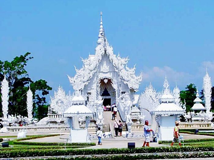 thailand Spirituality Sculpture Statue Architecture Place Of Worship Travel Destinations Bangkok