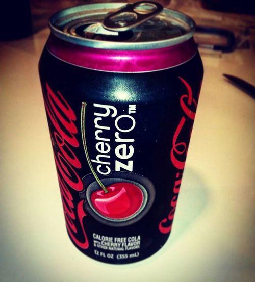 Cherrycokezero Cherrycoke Coke Cocacola Cola
