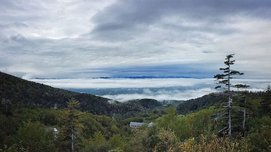 Sea of clouds Mountain Tokachi Tokachidake Mountains And Sky Daisetsuzan Hokkaido Japan Clouds
