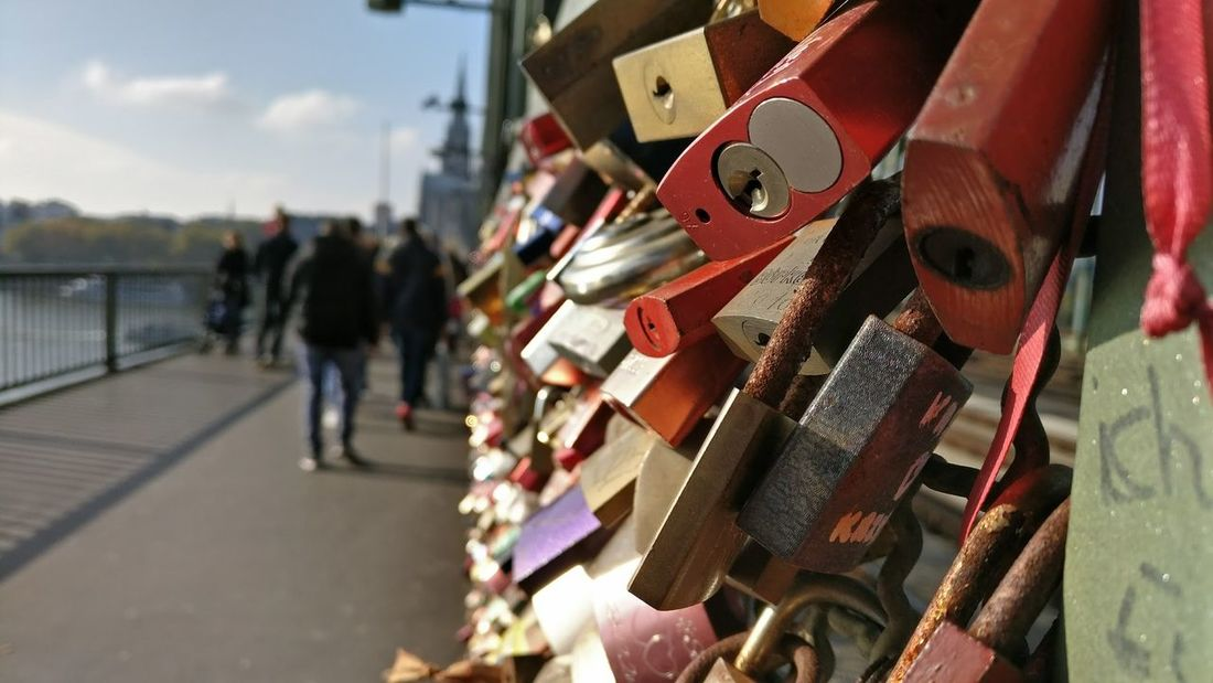 Adult Adults Only Close-up Day Love Lock Love Locks Bridge Love ♥ Outdoors People