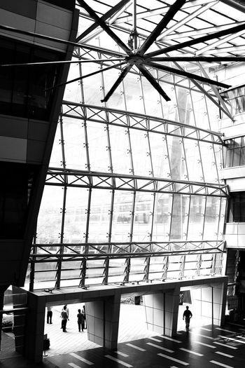 Deceptively Simple Giant Fan Architecture Interior Design BuildingPorn Urban Structures Blackandwhite Light And Shadow Monochrome