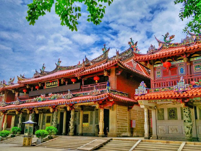 Architecture Religion Built Structure Temple - Building Sky Spirituality Place Of Worship Tradition Hi! Taking Photos Traditional Building