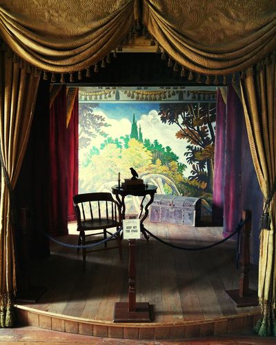 Architecture Indoors  Theatre 1800s Building Stage Door
