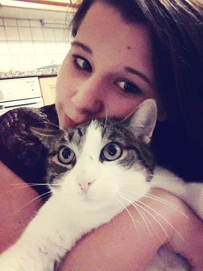 With Hugo ;) Cat Best Cat Ever Fat Cat love my little Hugo <3