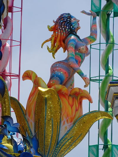 ezefer Art Arts Culture And Entertainment ArtWork Carnaval Carnaval2017sp Carnival Chinese Dragon Chinese New Year Cultures Day Multi Colored No People Outdoors Sky Statue