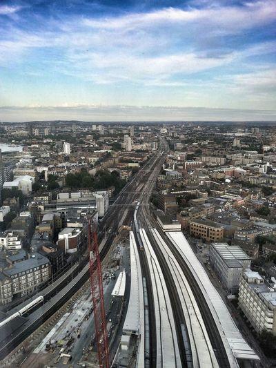 Cityscapes Cityscape Citystreets Railphotography Urban Landscape Urban Geometry Urbanphotography Urbanphoto Train London