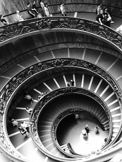 Black And White Friday Steps And Staircases Architecture Spiral Staircase Vantican