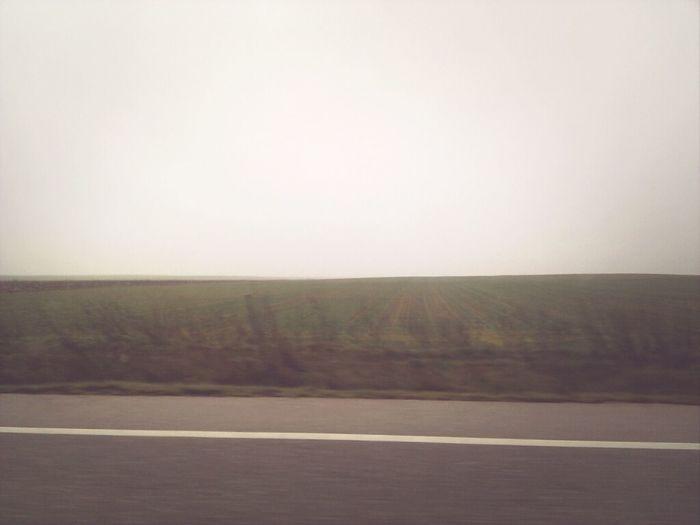 Niebla y más niebla