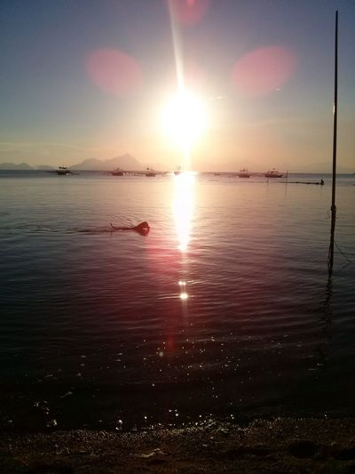 Beautiful. Sunset El Nido Palawan Life Is A Beach