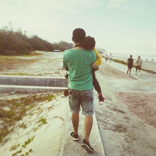 Back home Pantai Panjang