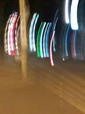Illuminated Multi Colored Technology Spectrum Mixing Variation Close-up