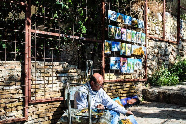 EyeEmNewHere Streetpainter Painting Oldneiborhood