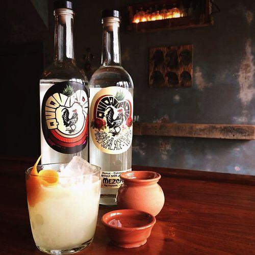 EyeEm Selects Drink Bottle Liqueur Refreshment Mezcal Tequila! Craft Cocktail Mixology Libations Bartender Bartending Bartenderslife Mixing Drinks Cocktails Happyhour Liquid Art Liquid Lunch. Alcohol