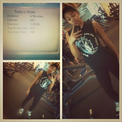 Working Out (:
