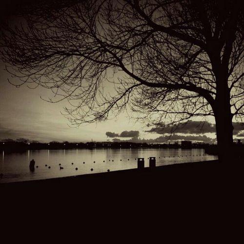 sunset Holland