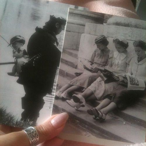 Ho ricominciato con il Postcrossing e mi sono arrivate queste belle cartoline vintage <3