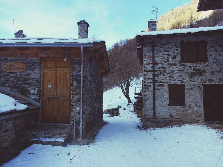 Località Pagliari. La magia della neve.
