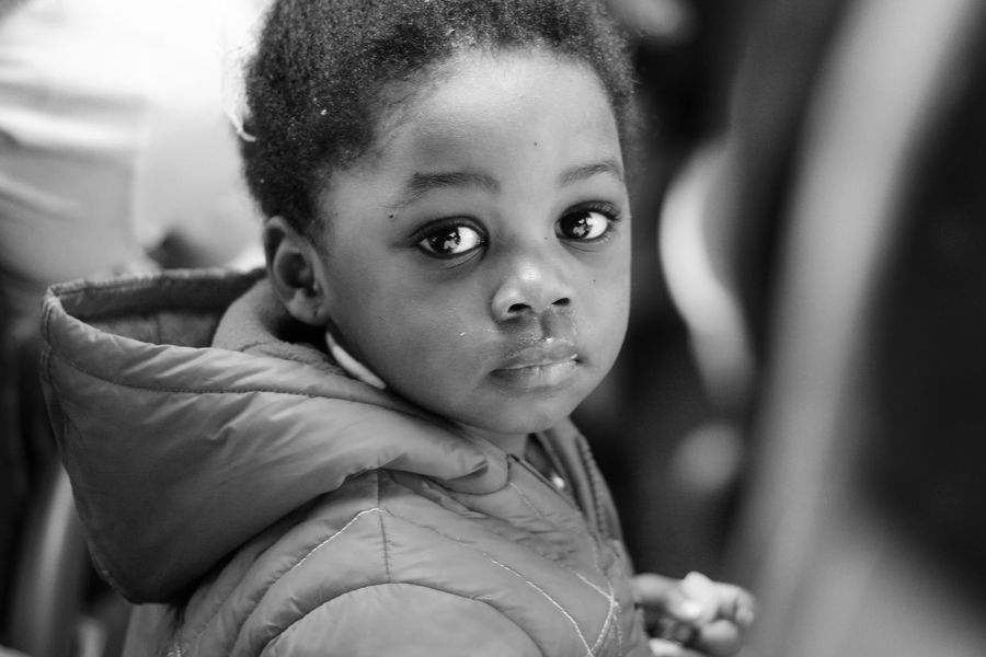 Portrai Black & White Black And White Black And White Photography Black Girl Black&white Blackandwhite Photography Blacknwhite Blackwhite Child Childhood Children's Portraits Close-up Girl Human Body Part One Person People Portrait Real People Refuge Refugee Refugees Refugees Crisis Refugeeswelcome Sad Sadness First Eyeem Photo EyeEmNewHere