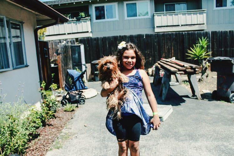 Kids Having Fun Kids Photography I Love My Dog