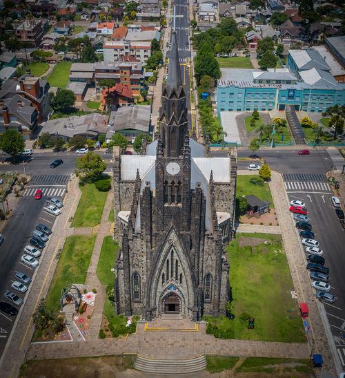 Great church in brazil