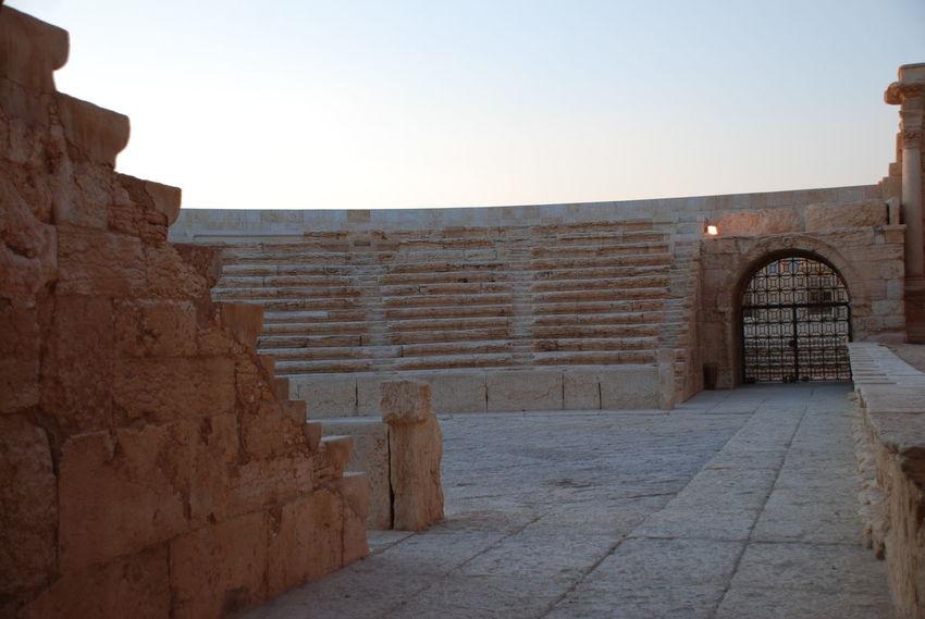 Ancient Ancient Civilization Architecture Built Structure Cavea History Monument No People Orchestra Palmyra Palmyra Ruins Roman Architecture Roman Theater Syria  Syria Before War Tourism Travel Destinations