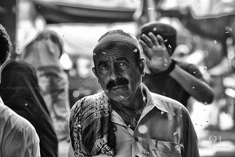 From the streets of Karachi Empress Market @instameetpakistan @vsco.pk @vscopakistan Streets Karachi Karachites Ilovekhi Bnw Market Portrait