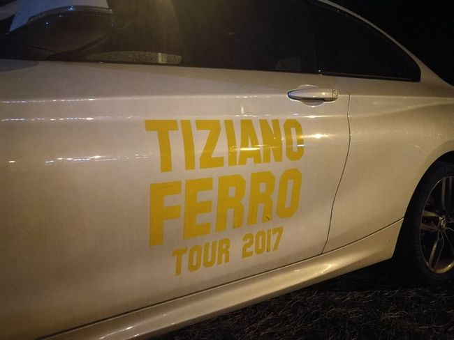 Tiziano Ferro Tour 2017 Stadio Olimpico 30/Giugno/2017 Color Photography Capture The Moment Rome Italy🇮🇹 The Purist (no Edit, No Filter) Communication Indoors  No People Yellow Close-up Day