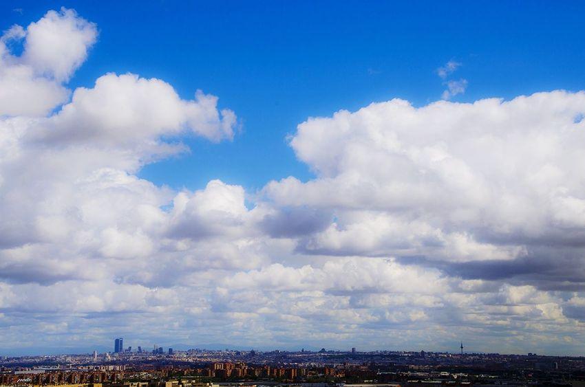 Cloud - Sky Sky Blue Madrid ❤ Madridgrafias Madrid,spain Madrid Taking Photos