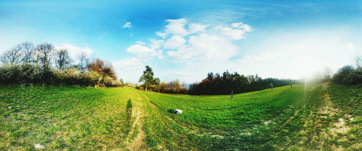Frisbee day, beautiful Landscape Enjoy Enjoying The Sun
