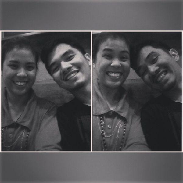 19th monthsary early celebration with @armelbonifacio . I love you! :-* Medyonapaaga Nov1 Undaskasi