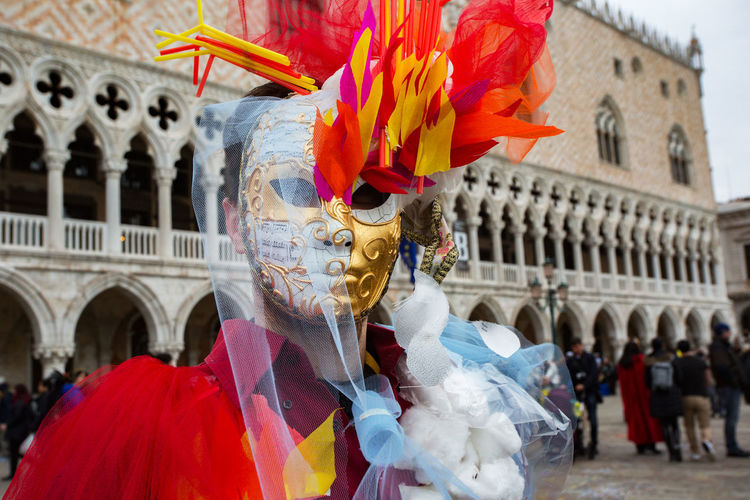 Carnival Carnival In Venice Venice, Italy Adult Arch Architecture Arts Culture And Entertainment Building Exterior Built Structure Carnival Masks Day Large Group Of People Mask - Disguise Men Outdoors People Real People Travel Destinations Venetian Event Venetian Masks