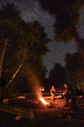 North woods kinda night⛺️ Northwoods Wisconsin MidWest Summer Summertime Nikon D7100 Photo Photography