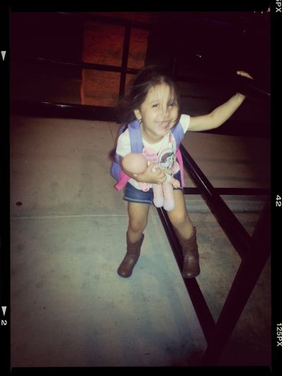 Movie Night W/ This Little Cowgirl...♥