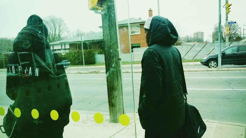 young film critics // if you read my twitter you'll know what I'm talking about Waiting Toronto Rexdale Snapshots