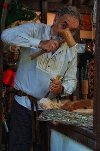 Sculpted Sculpting Sculptor Artist Woodworking Woodworker Streetphotography Peoplephotography Maryland Renaissance Festival The Weekend On EyeEm Untold Stories Picturing Individuality