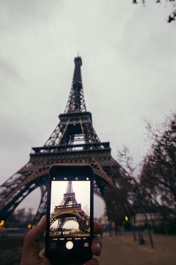 Architecture Building Exterior Built Structure Eiffel Tower Eiffeltower Outdoors Paris Sky