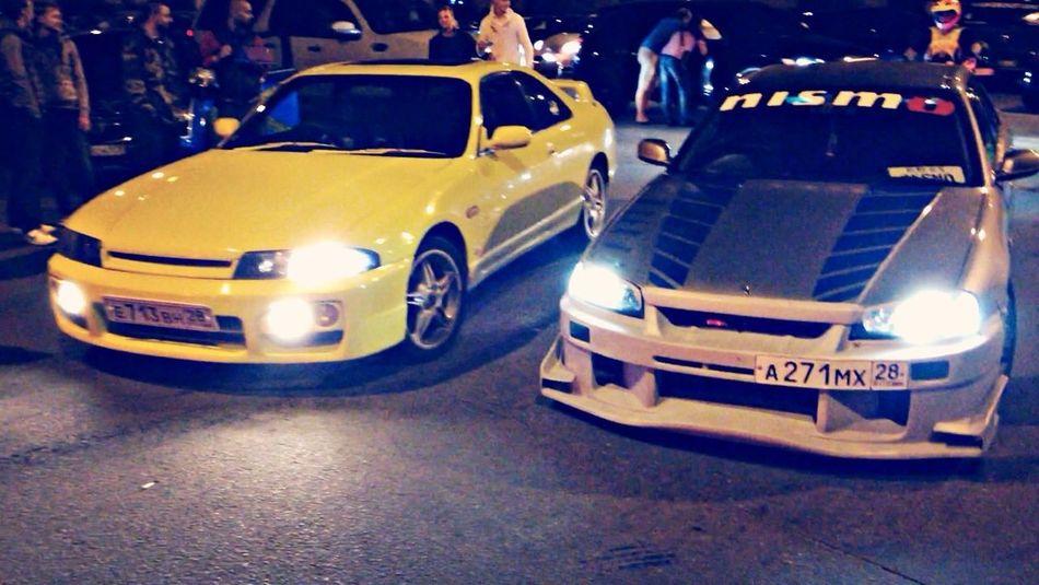 Streetracing Car Nissan Enjoying Life