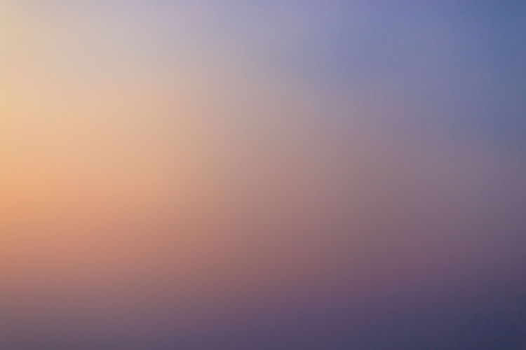 Full frame shot of orange sky