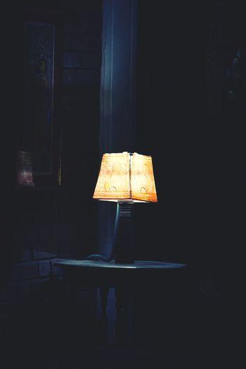 Hello World Lamp Night Lights Light In The Darkness Freelance Life