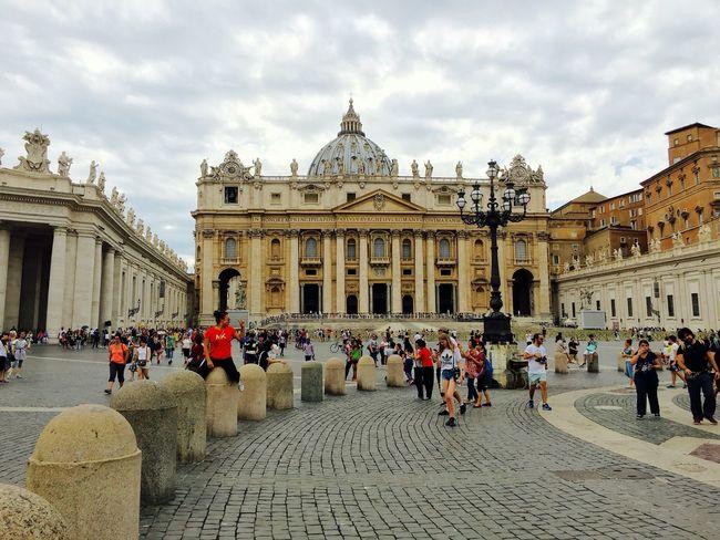 Vatican City Building Exterior Architecture Travel