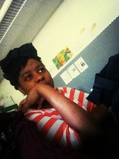 Jasmin Off Guard In Class