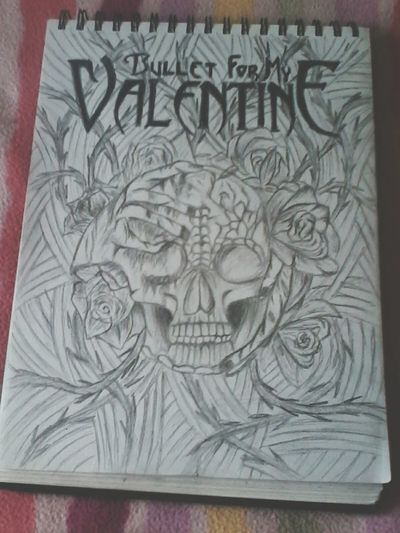 My Drawing BORED! Bullet For My Valentine