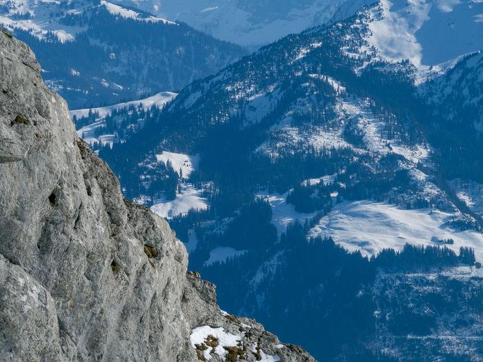 Views from pilatus mountain