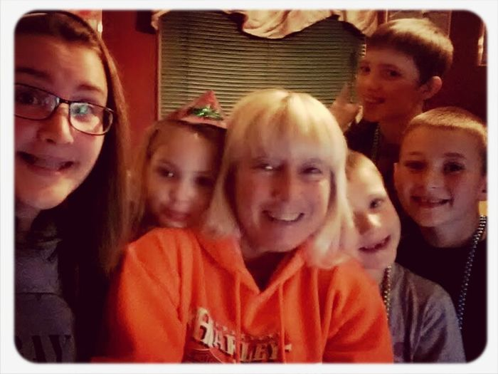 Mom Maw & her Babies on New Year's! What a way to start my Year! The Best! ;)