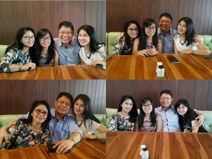 I called this FAMILY Great Atmosphere Tasty Dishes Gathering Family Love Color Portrait 💓