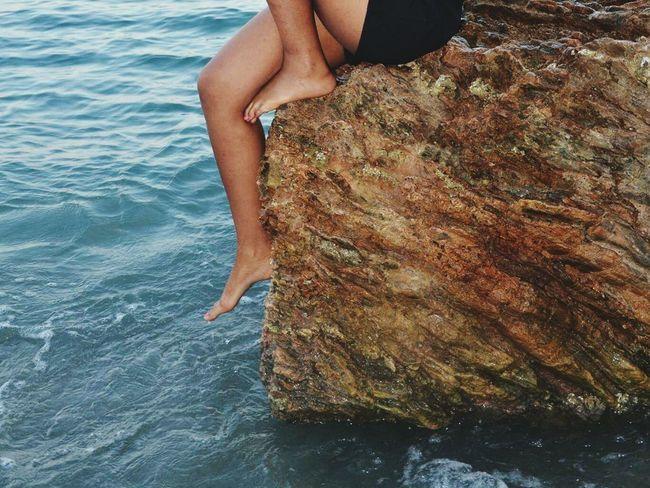 Sea Girl Fille Legs Jambes Tanning Mare Mar Mer Water Eau Acqua EyeEm Best Shots EyeEmBestPics Followme Eyeemitalia Italy Live For The Story