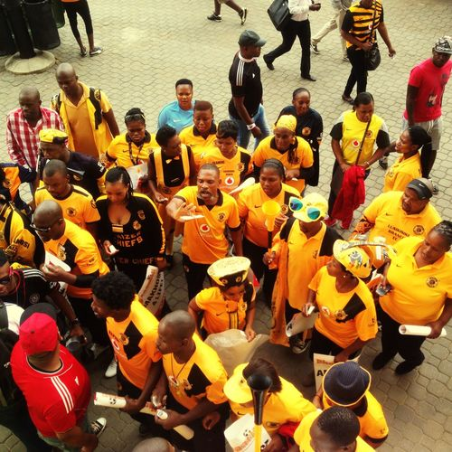 Snapshots Of Life Game Football Soccer Fans Derby Kaizerchiefs