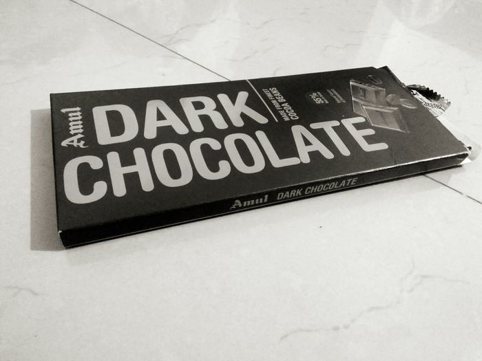 Text Close-up No People Indoors  Light And Shadow Dark Chocolate ♥ Chocolate♡ Healthy Eating Indoor Photography Mobile Photograpgy