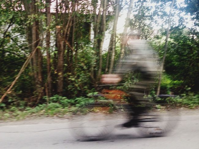 Transportation Road Motion Long